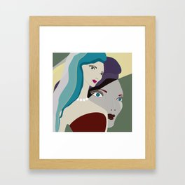 JEZEBEL-25 Framed Art Print