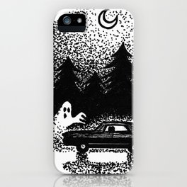 Saving people hunting things iPhone Case