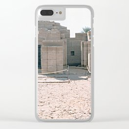 Temple of Dendera, no. 1 Clear iPhone Case