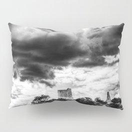Storm Over The Castle Pillow Sham