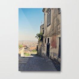 Exploring Naples Metal Print