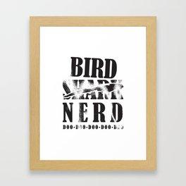 Bird Native Bird Songbird Nerd Gift Framed Art Print
