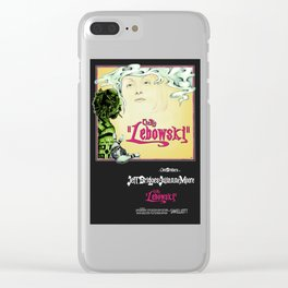 Lebowskitown Clear iPhone Case