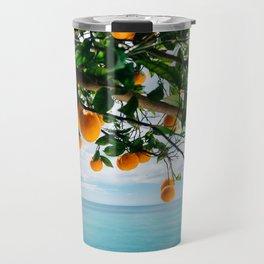 Amalfi Coast Oranges IV Travel Mug