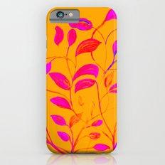 Peaches and Cream Red Leaves iPhone 6s Slim Case