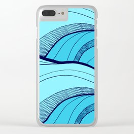 Lines in the waves Clear iPhone Case