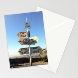 CrossRoads in Israel Stationery Cards