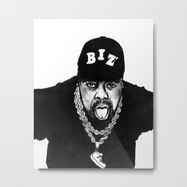 nobody beats the biz Metal Print