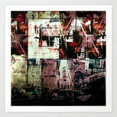 Concrete Jungle 2 Art Print