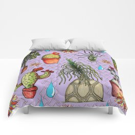 Botanical Sketches of Some Favorites  Comforters