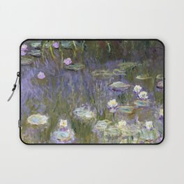 "Claude Monet ""Water lilies""(2) Laptop Sleeve"