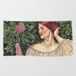 The Selfie Beach Towel