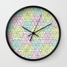 rhinestones 5 Wall Clock