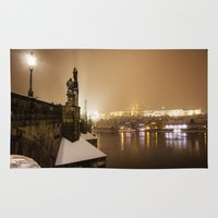 prague Area & Throw Rugs featuring Prague 6 by Veronika