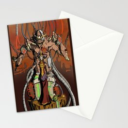 Biomechanical Abomination Stationery Cards
