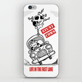 STUNT COWS iPhone Skin