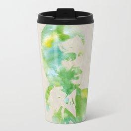 Ron Burgundy - Watercolor Travel Mug