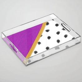 Vaguely Royal Acrylic Tray