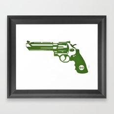 Bio Framed Art Print