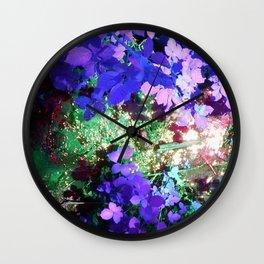 Iris Julep Wall Clock