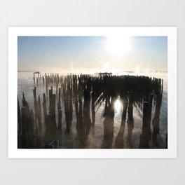 Bay Fog 1 Art Print