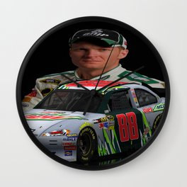 Dale Earnhardt Jr. 3ds Sprint Cup car #NASCAR Wall Clock