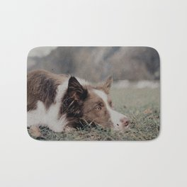 Kiva the dog Bath Mat