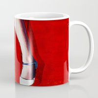legs Mugs featuring Legs by Ed Pires