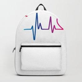 Heartbeat LGBT Pride Backpack