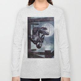 Black Spidey calling Black Cat Long Sleeve T-shirt