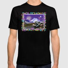KOMA KULSHAN IN OUTER SPACE LARGE Mens Fitted Tee Black