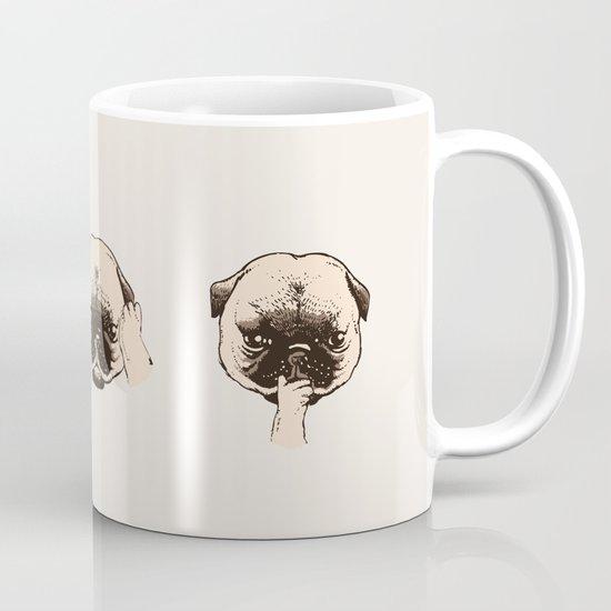 No Evil Pug Mug