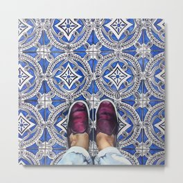 Art Beneath Our Feet - Ancona, Italy Metal Print