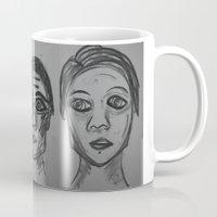 jane eyre Mugs featuring Jane by maurasart
