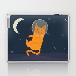 Floating Space Cat Laptop & iPad Skin