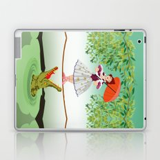 Halloween the girl with the crocodile iPhone 4 4s 5 5s 5c, ipod, ipad, pillow case and tshirt Laptop & iPad Skin