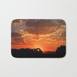 Idaho Sunset Bath Mat