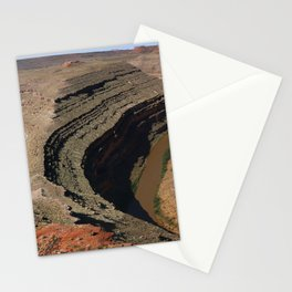 The Goosnecks - A Meander Of The San Juan River Stationery Cards