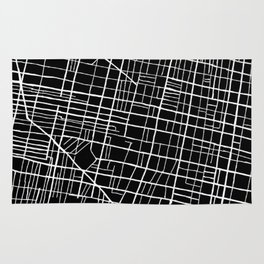 South Philly Map Rug