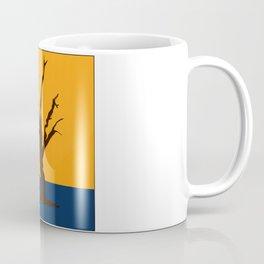 A Scorched Tree Skeleton of Deadvlei Coffee Mug