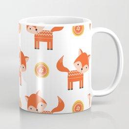 Orange Fox Coffee Mug