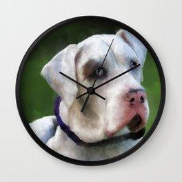Leo the Great Dane Wall Clock
