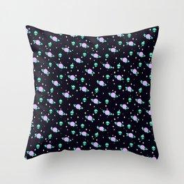 Space Kei Pattern Throw Pillow