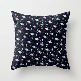 Space Kei Pattern Throw Pillow