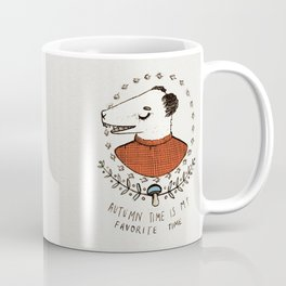 AUTUMN TIME - colour Coffee Mug
