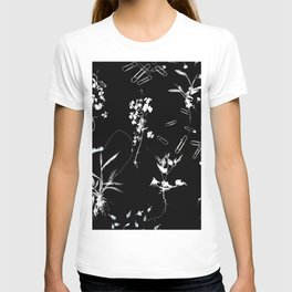 Plants & Paper clips Photogram T-shirt