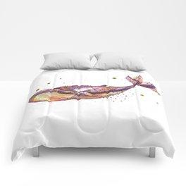Grape Whale Comforters
