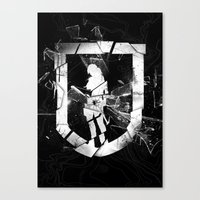 tomb raider Canvas Prints featuring Tomb Raider II. by 187designz