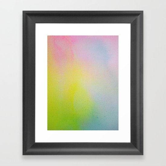 Color Field/Washes III Framed Art Print