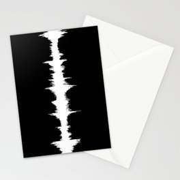 No Way - Music Wave Stationery Cards
